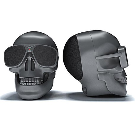 Fashion Cute Wearing Sunglasses Skull Bluetooth Speaker