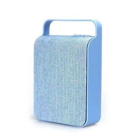 Mini Haut-Parleur Bluetooth Design Sac en Toile Rétro Favorever - 1