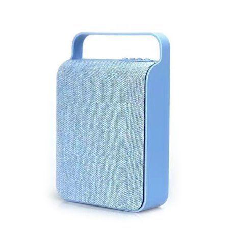 Mini Haut-Parleur Bluetooth Design Sac en Toile Rétro