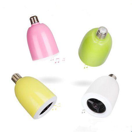 Lâmpada LED RGBW com controle Bluetooth e mini alto-falante Bluetooth BL04 Favorever - 1