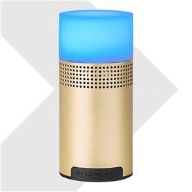 Mini Haut-Parleur Bluetooth et Lampe LED
