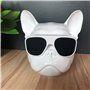 Fashion Cute Wearing Sunglasses Skull Bluetooth Speaker Favorever - 6