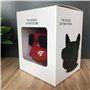 Alto-falante Bluetooth Mini Design Bulldog Favorever - 8