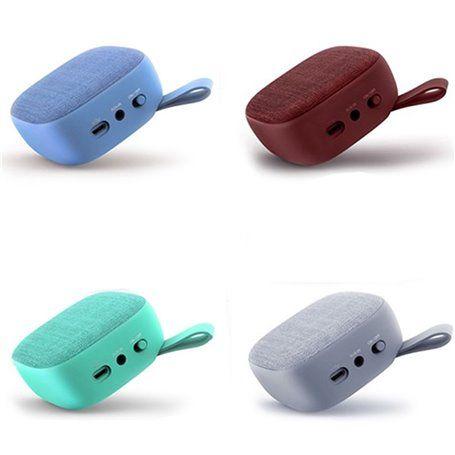 Mini Haut-Parleur Bluetooth Design Mini en Toile Rétro