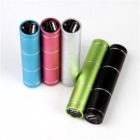 Draagbare externe batterij 2600 mAh Design Tube Lvsun - 4
