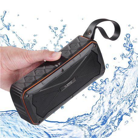 Mini wasserdichter Bluetooth-Lautsprecher für Sport und Outdoor und Power ... Ilepo - 1