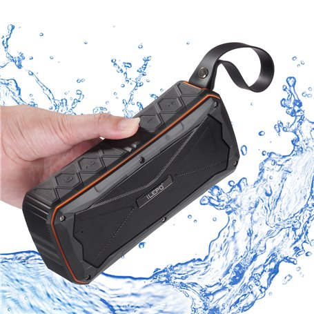 Mini waterdichte Bluetooth-luidspreker voor Sport en Outdoor en Powerbank Ilepo - 1