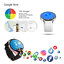 Android Watch with GPS 3G Wifi Camera Touchscreen Ilepo - 4