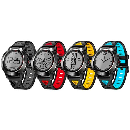 Smart Watch with GPS Heart Rate Blood Pressure Sport Watch GX-BW345 Ilepo - 2