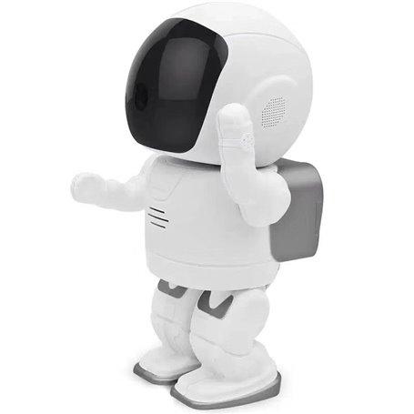 Telecamera HD-IP Wifi Smart Robot a infrarossi 2.0 Megapixel Full ... GatoCam - 1