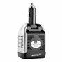 Blocco inverter multiplo misto a 250 volt protetto e 5 volt USB su accendisigari 75 watt Bestek - 3