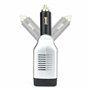 Blocco inverter multiplo misto a 250 volt protetto e 5 volt USB su accendisigari 75 watt Bestek - 4