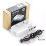 Bloc Onduleur Multiprise Protégé Mixte 250 Volts et USB 5 Volts sur Allume-Cigare 200 Watts Bestek - 5