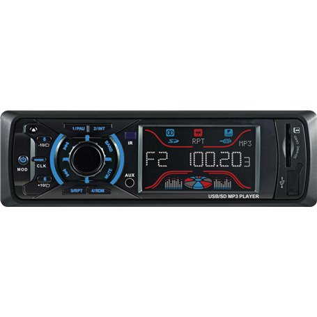 Car Radio Digital AM FM DAB RDS Digital Player MP3 USB SD Bluetooth HT-882 GLK Electronics - 1