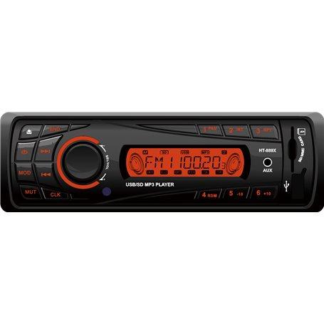 Auto-Radio Digitale AM FM DAB RDS Lettore MP3 digitale USB SD Bluetooth HT-889 GLK Electronics - 1