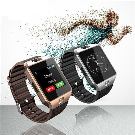 Montre Bracelet Intelligente Blueetooth Téléphone Caméra Ecran Tactile SF-DZ09 Stepfly - 1