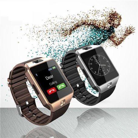Touch screen della macchina fotografica del telefono dell'orologio del braccialetto astuto del bluetooth SF-DZ09 Stepfly - 1