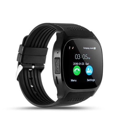 Blueetooth Smart Bracelet Reloj Teléfono Cámara Pantalla táctil SF-T8 Stepfly - 1