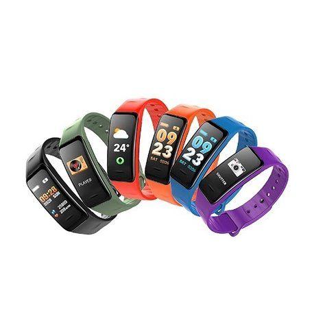 Relógio de pulseira inteligente impermeável para esportes e lazer SF-C1S Stepfly - 1