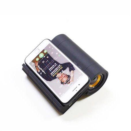 Mini alto-falante Bluetooth e carregador e estação de acoplamento sem fio compatíveis com Qi BT108 Favorever - 1