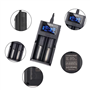 Chargeur Universel Intelligent 3.7 Volts pour Batteries Li-ion Rechargeables Doca - 1
