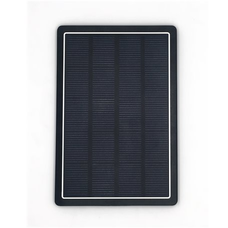 10000 mAh tragbare externe Batterie mit Solarladegerät DS10000B Doca - 1