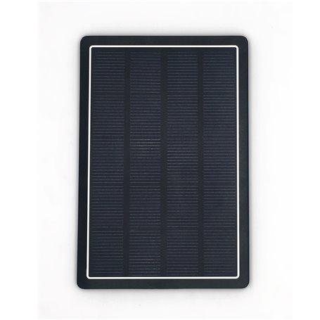 Batería externa portátil de 10000 mAh con cargador solar DS10000B Doca - 1