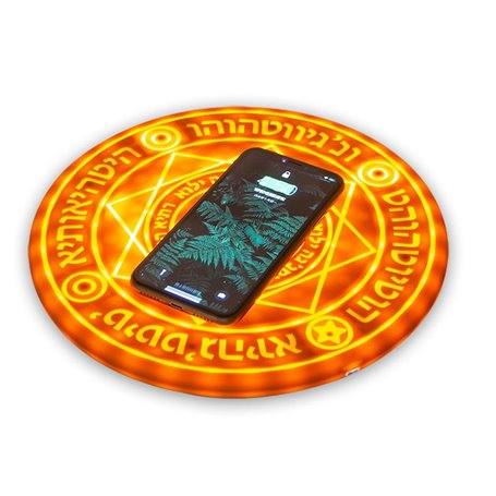 Intelligent Qi Fast Wireless Charger for Smartphones Favorever - 1
