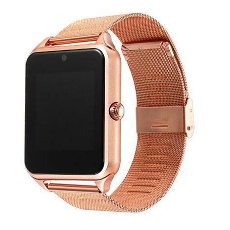 Montre Bracelet Intelligente Blueetooth Téléphone Caméra Ecran Tactile