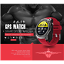 Wodoodporny inteligentny zegarek branżowy do uprawiania sportu i rekreacji SF-SM958 Stepfly - 9