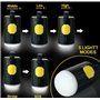 Lanterna de acampamento Bateria externa portátil 10400 mAh ... Abest - 8