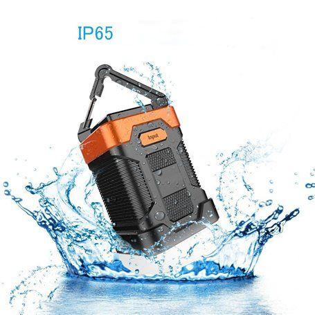 Linterna de camping a prueba de agua y batería externa portátil de 10000 mAh Abest - 1