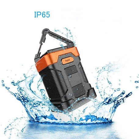 Wasserdichte Campinglaterne und tragbare externe Batterie 10000 mAh Abest - 1