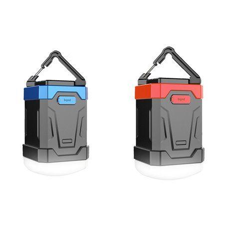 Lanterna de acampamento impermeável e bateria externa portátil 13000 mAh Abest - 1