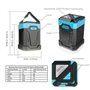 Linterna de camping a prueba de agua y batería externa portátil 13000 mAh Abest - 4
