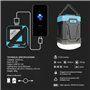 Lanterna de acampamento impermeável e bateria externa portátil 13000 mAh Abest - 8
