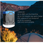Lanterna da campeggio impermeabile e batteria esterna portatile 13000 mAh Abest - 9