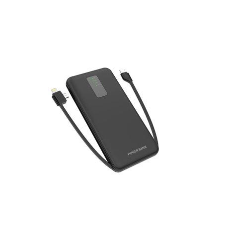 Batería externa portátil 10000 mAh Recarga rápida bidireccional ... Cager - 1