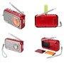Alto-falante Bluetooth com design retro e rádio FM R922-B Fuyin - 9
