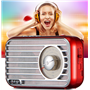 Retro Design Bluetooth Speaker with FM-Radio Fuyin - 17