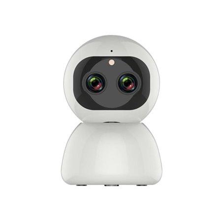 Kamera HD-IP Wifi Inteligentny podwójny obiektyw PTZ na podczerwień 2,0 megapiksela Full HD 1920x1080p GA-C205A GatoCam - 1