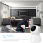 2.0 Megapixel Smart 1080p Wifi IP Camera Pan/Tilt Auto Tracking Nightvision Full HD GA-Q9 GatoCam - 8