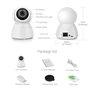 Cámara HD-IP Wifi Infrarrojo inteligente Pan / Tilt Seguimiento automático 2.0 Megapixel Full HD 1920x1080p GA-Q9 GatoCam - 5