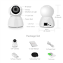 Caméra HD-IP Wifi Infrarouge Intelligente Pan/Tilt Suivi Automatique 2.0 Megapixel Full HD 1920x1080p GA-Q9 GatoCam - 5