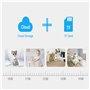 Kamera HD-IP Wifi Inteligentne automatyczne śledzenie / pochylenie w podczerwieni 2.0 megapikseli Full HD 1920x1080p GA-Q9 GatoC