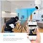 Cámara HD-IP Wifi Infrarrojo inteligente Pan / Tilt Seguimiento automático 2.0 Megapixel Full HD 1920x1080p GA-Q9 GatoCam - 9