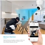 Caméra HD-IP Wifi Infrarouge Intelligente Pan/Tilt Suivi Automatique 2.0 Megapixel Full HD 1920x1080p GA-Q9 GatoCam - 9