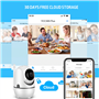 2.0 Megapixel Smart 1080p Wifi IP Camera Pan/Tilt Auto Tracking Nightvision Full HD GA-298ZD-2MP GatoCam - 8