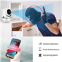 HD-IP-camera Wifi Infrarood Intelligent Pan / Tilt Automatisch volgen 2,0 Megapixel Full HD 1920x1080p GA-298ZD-2MP GatoCam - 10