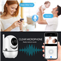 Caméra HD-IP Wifi Infrarouge Intelligente Pan/Tilt Suivi Automatique 2.0 Megapixel Full HD 1920x1080p GA-298ZD-2MP GatoCam - 11